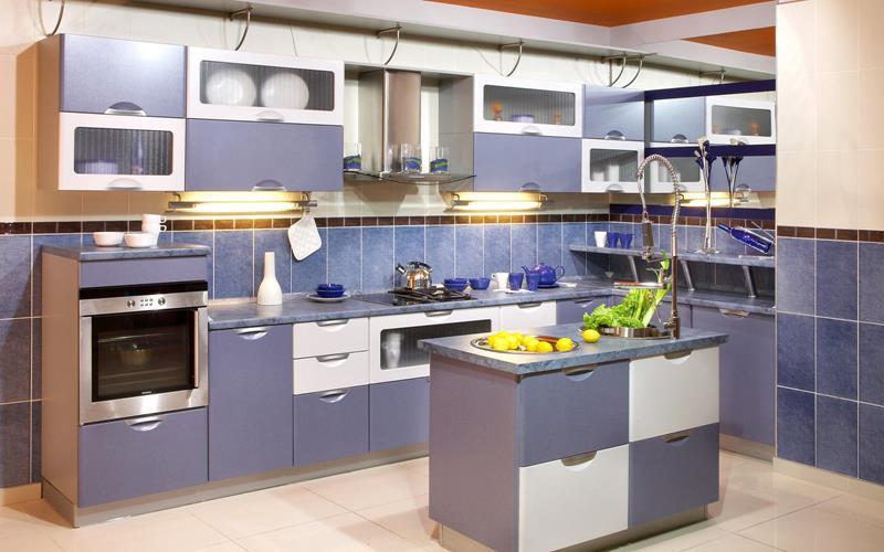 26 Eye Catching Blue Kitchen Designs-1