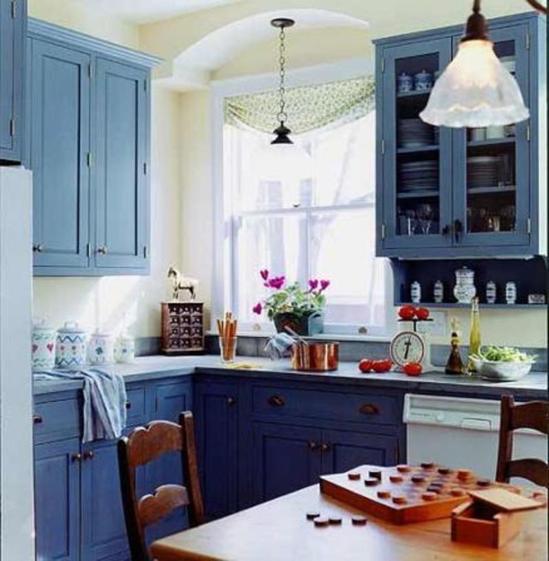 26 Eye Catching Blue Kitchen Designs-11