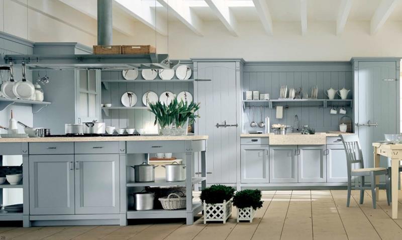 26 Eye Catching Blue Kitchen Designs-14