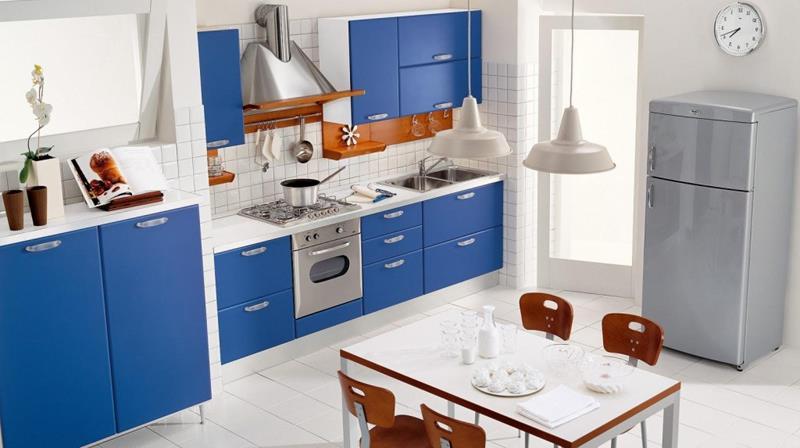 26 Eye Catching Blue Kitchen Designs-22