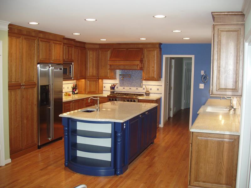 26 Eye Catching Blue Kitchen Designs