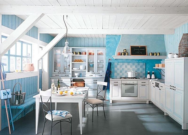 26 Eye Catching Blue Kitchen Designs-4