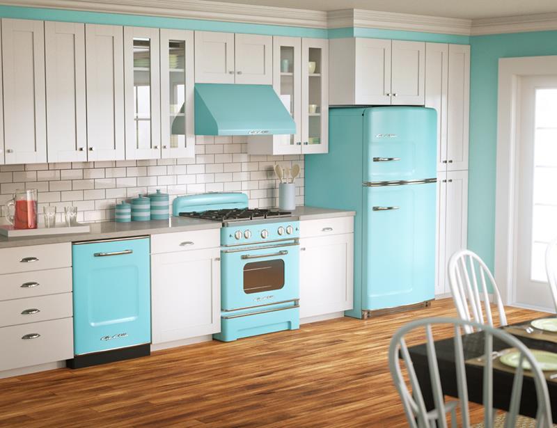 26 Eye Catching Blue Kitchen Designs-7