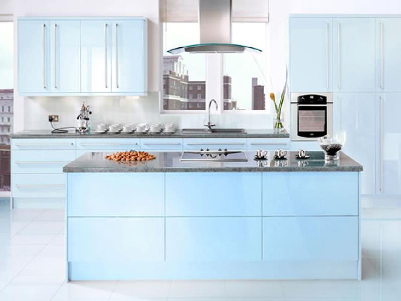 26 Eye Catching Blue Kitchen Designs-8