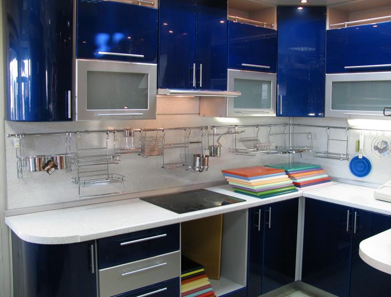 26 Eye Catching Blue Kitchen Designs-9