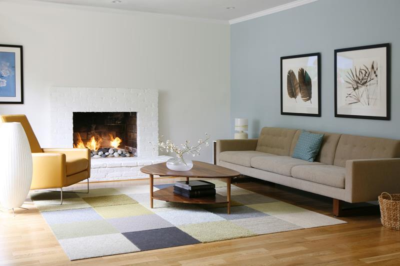 27 Beautiful Mid Century Living Room Designs-12