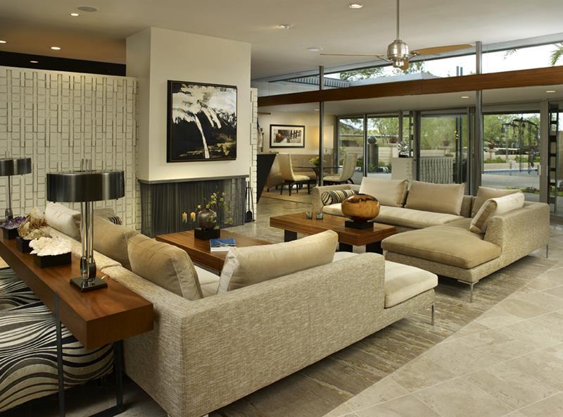 27 Beautiful Mid Century Living Room Designs-15