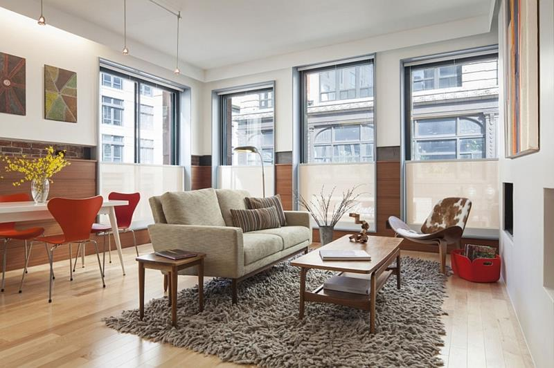 27 Beautiful Mid Century Living Room Designs-21