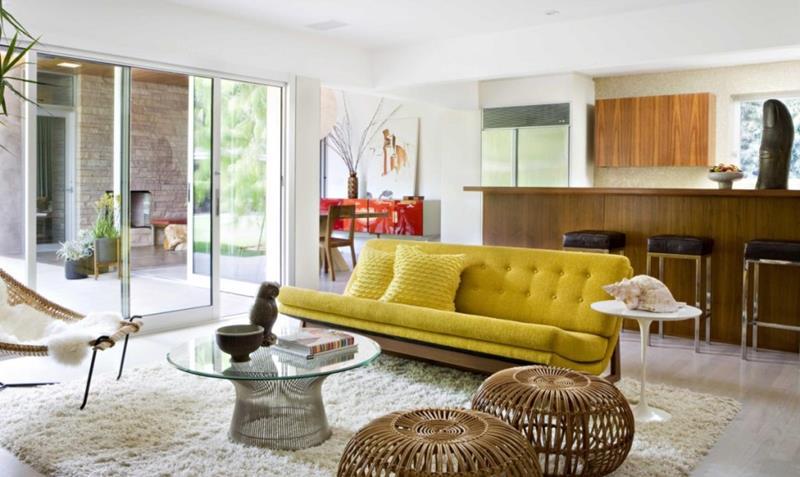 27 Beautiful Mid Century Living Room Designs-25