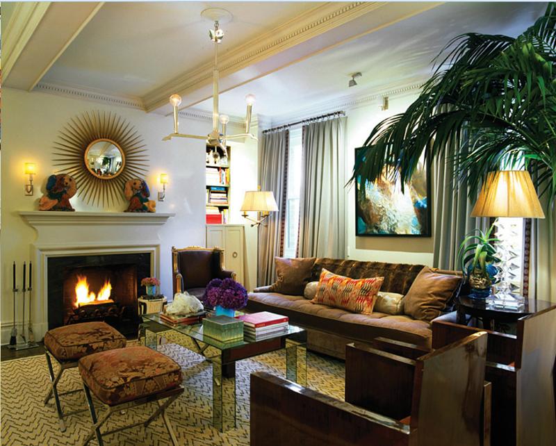 27 Beautiful Mid Century Living Room Designs-3