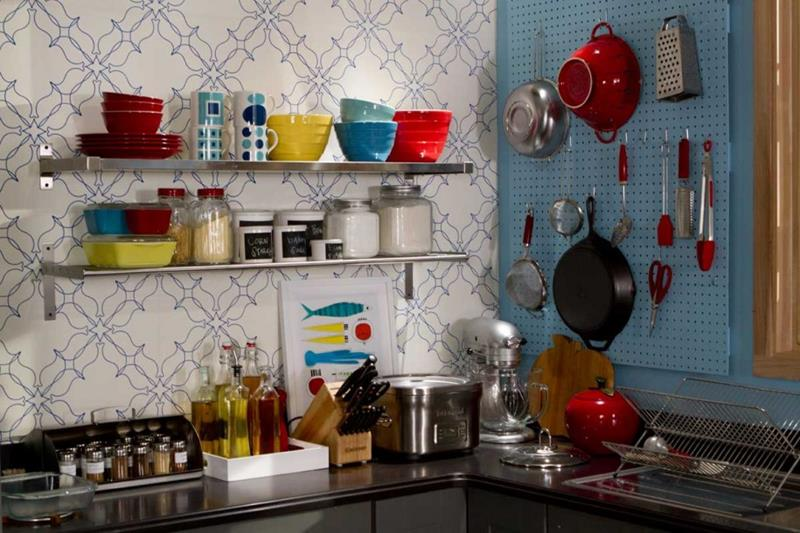 27 Retro Kitchen Designs That Are Back to the Future-15