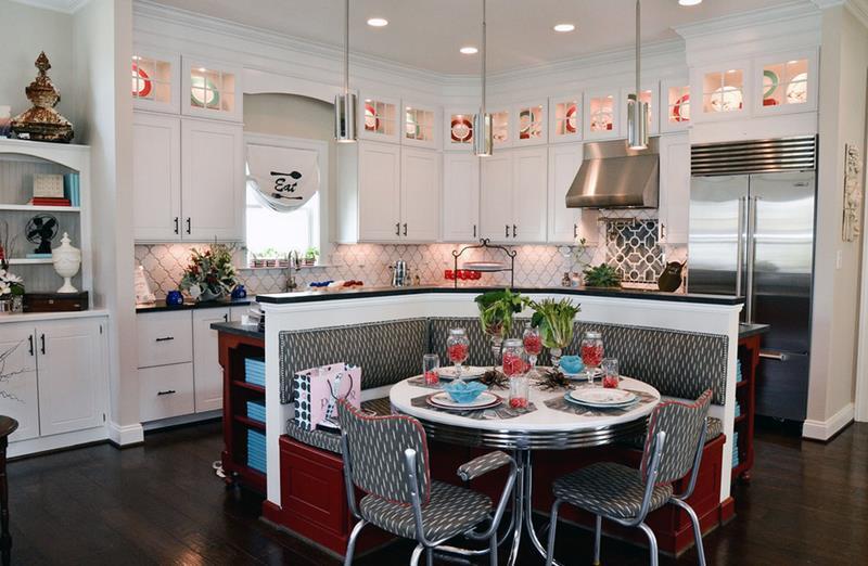 27 Retro Kitchen Designs That Are Back to the Future-18
