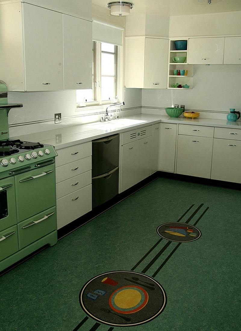 27 Retro Kitchen Designs That Are Back to the Future-20