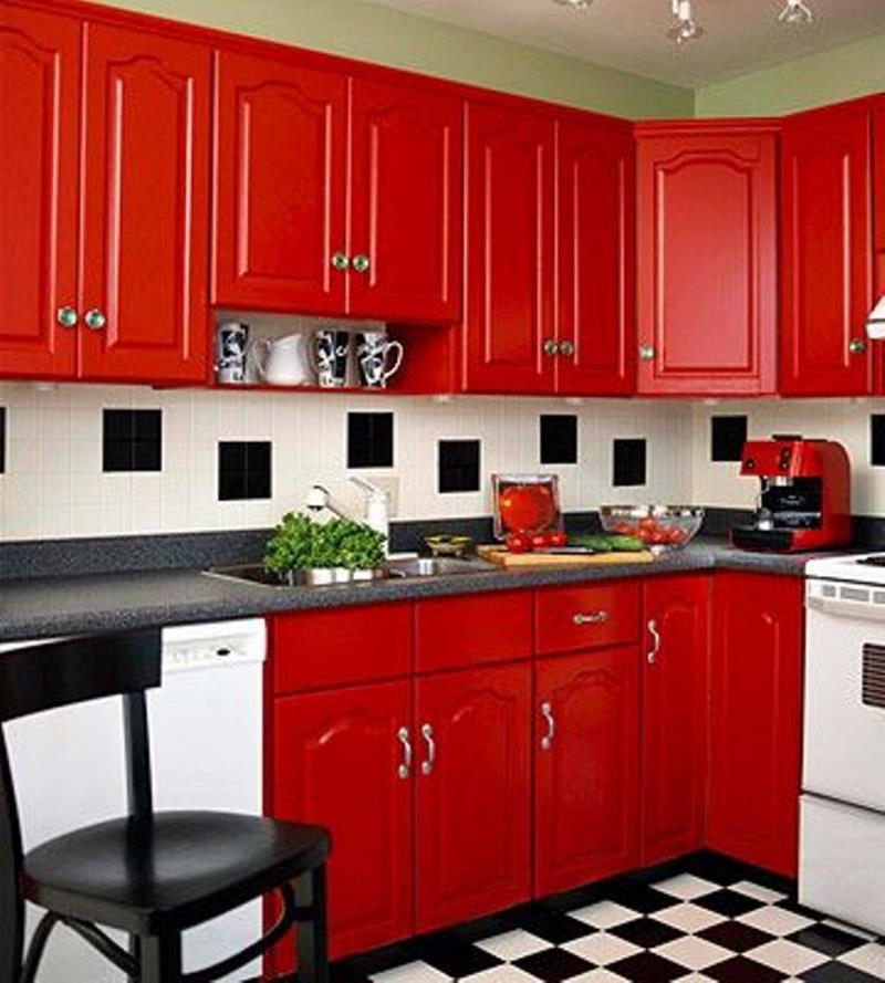 27 Retro Kitchen Designs That Are Back to the Future-23