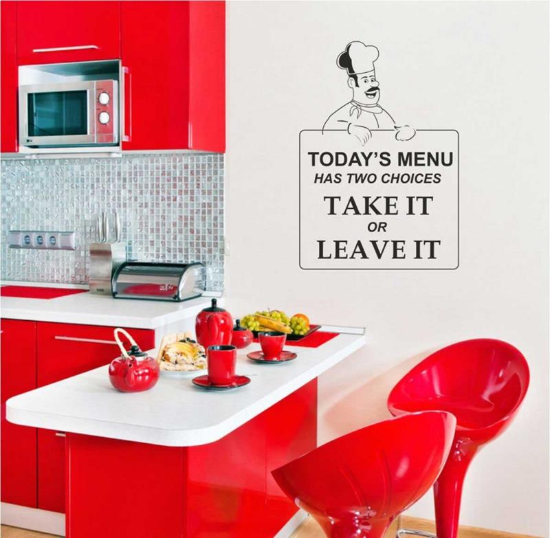 27 Totally Awesome Red Kitchen Designs