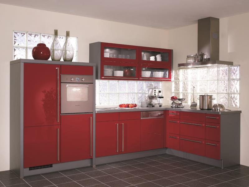 27 Totally Awesome Red Kitchen Designs-12
