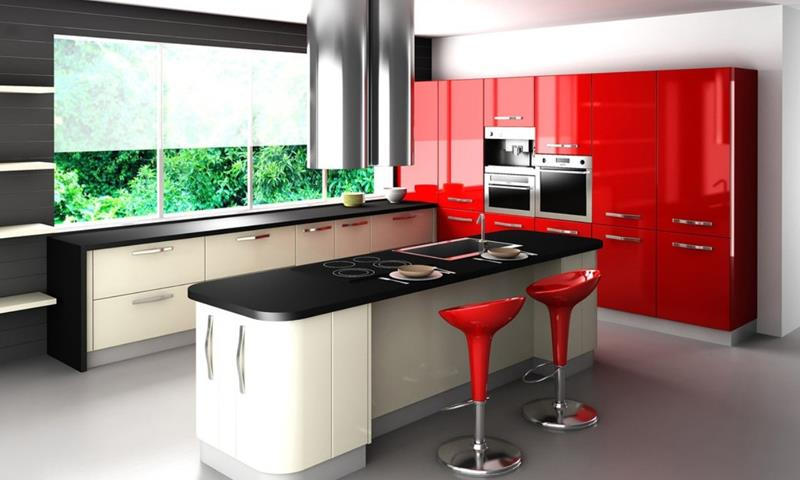 27 Totally Awesome Red Kitchen Designs-13