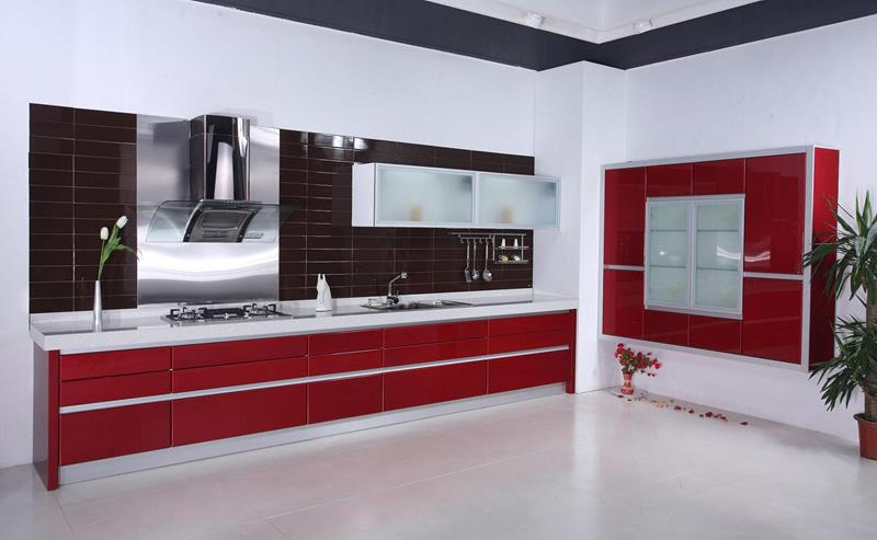 27 Totally Awesome Red Kitchen Designs-14