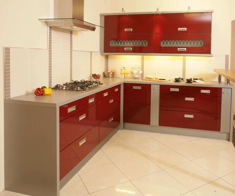 27 Totally Awesome Red Kitchen Designs-17