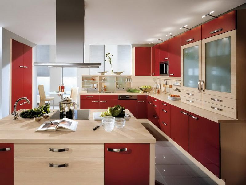 27 Totally Awesome Red Kitchen Designs-23