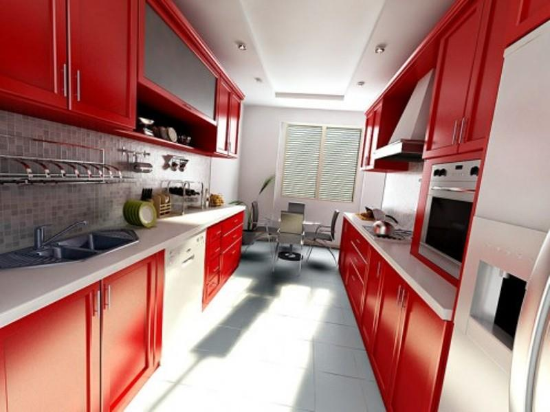 27 Totally Awesome Red Kitchen Designs-27