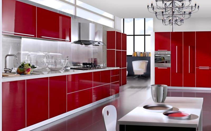 27 Totally Awesome Red Kitchen Designs-title