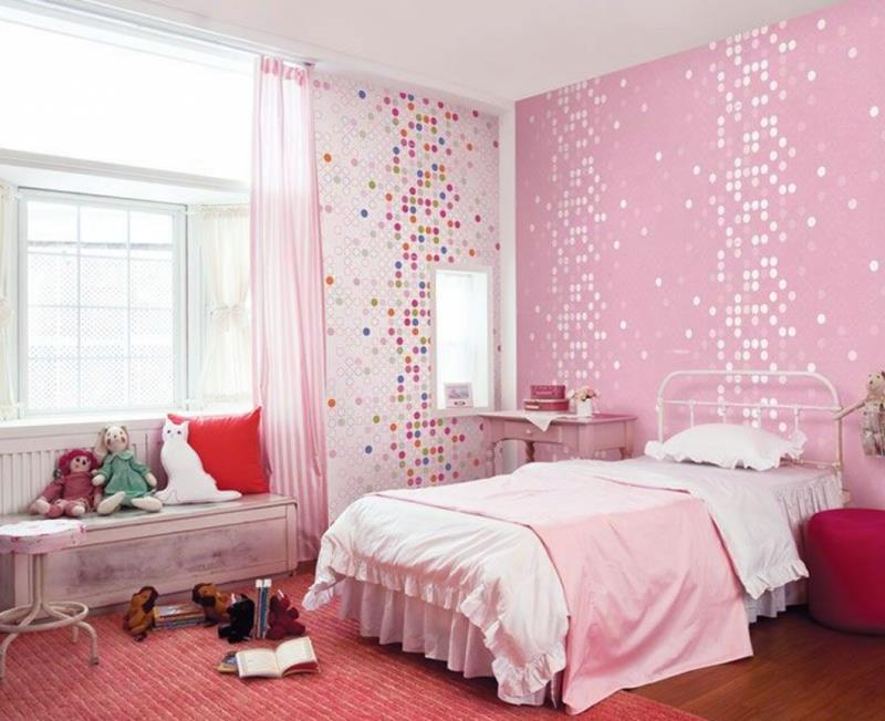 31 Pretty in Pink Bedroom Designs-1