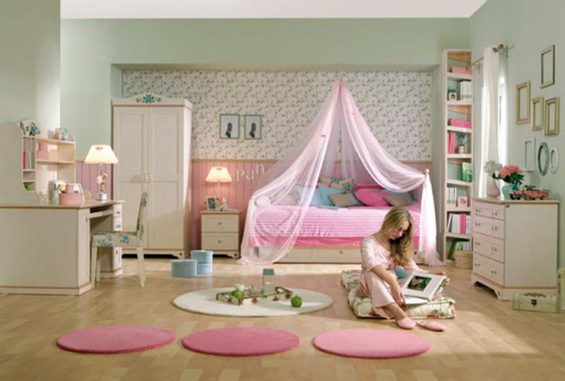 31 Pretty in Pink Bedroom Designs-10