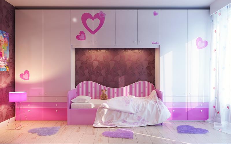 31 Pretty in Pink Bedroom Designs-11