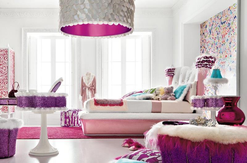 31 Pretty in Pink Bedroom Designs-14