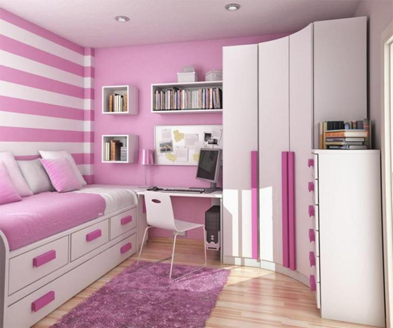 31 Pretty in Pink Bedroom Designs-17