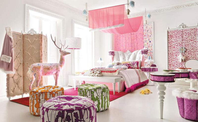 31 Pretty in Pink Bedroom Designs-18