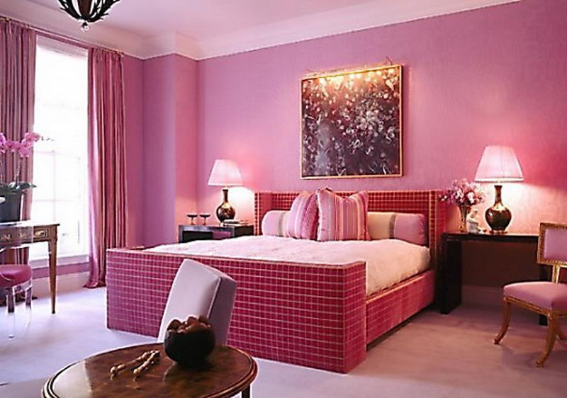 31 Pretty in Pink Bedroom Designs-20