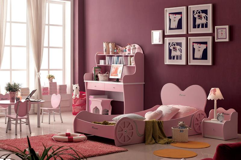 31 Pretty in Pink Bedroom Designs-3