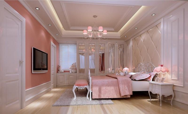 31 Pretty in Pink Bedroom Designs-6