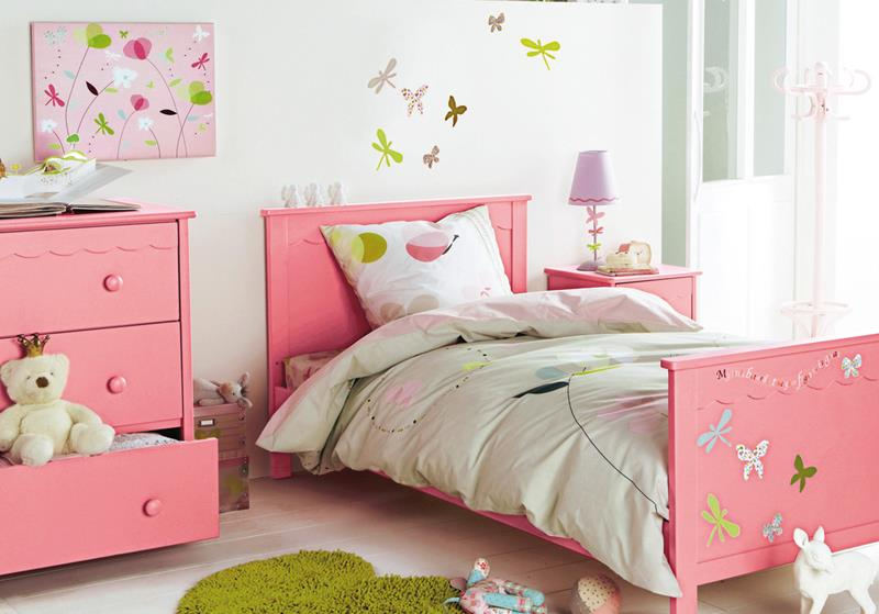 31 Pretty in Pink Bedroom Designs-7