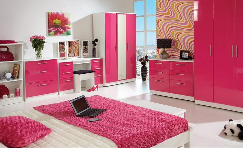 31 Pretty in Pink Bedroom Designs-title