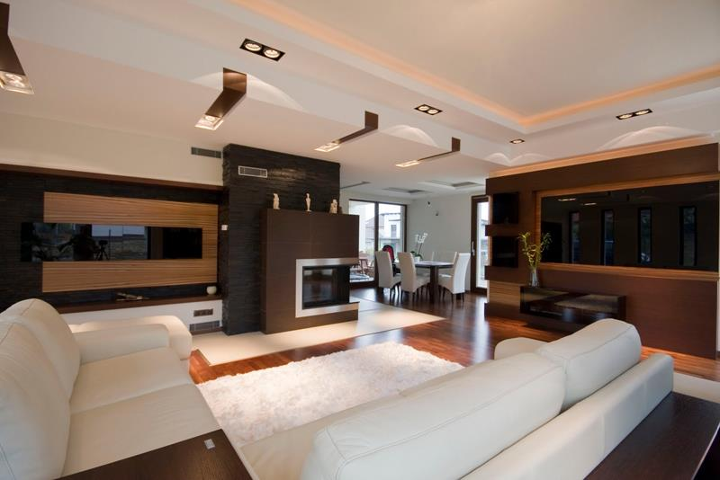 127 Luxury Living Room Designs-108