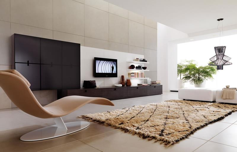 127 Luxury Living Room Designs-110