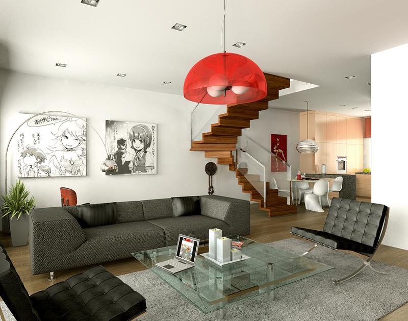 127 Luxury Living Room Designs-111