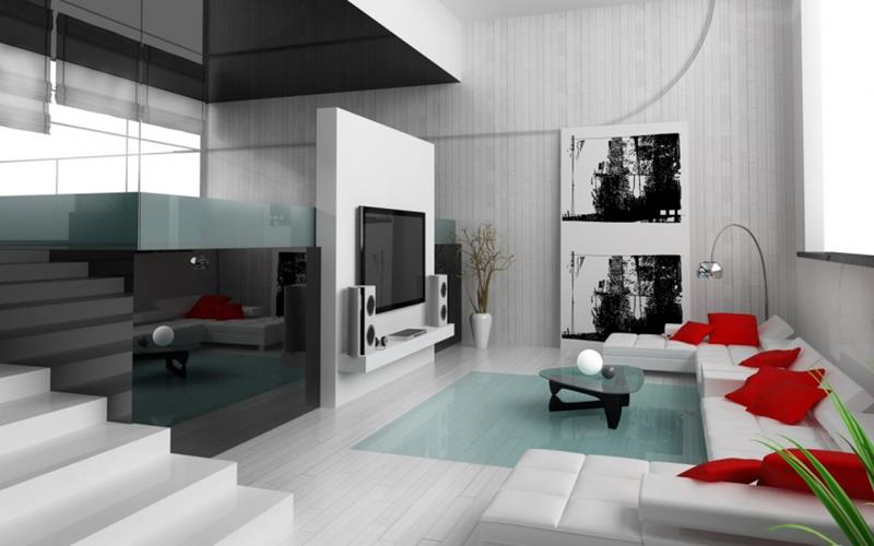 127 Luxury Living Room Designs-119