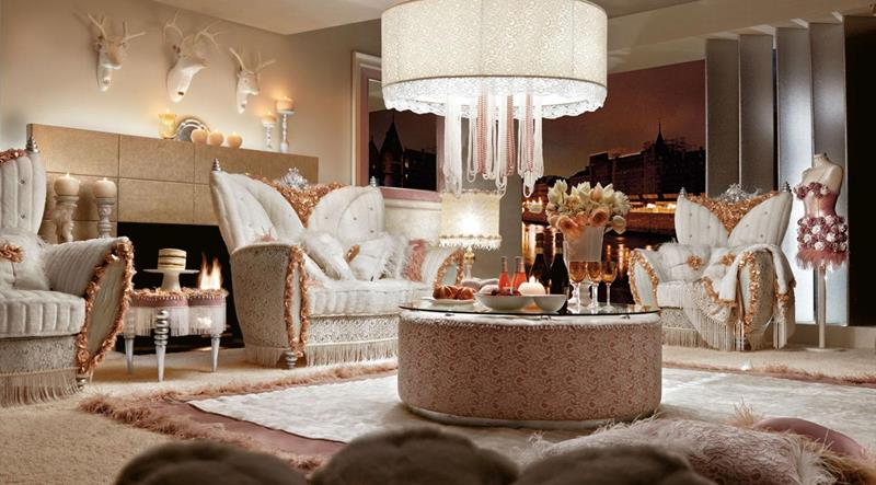 127 Luxury Living Room Designs-12