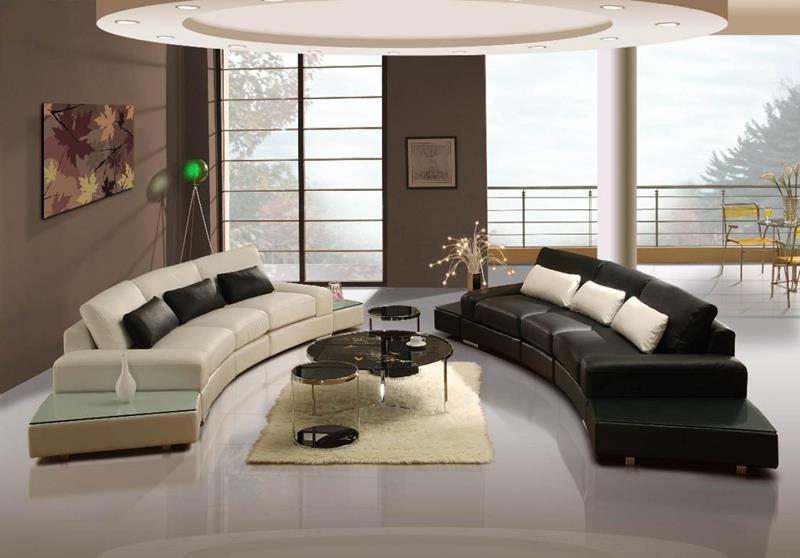 127 Luxury Living Room Designs-125