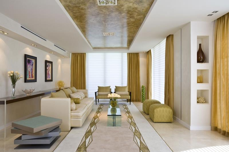 127 Luxury Living Room Designs-126