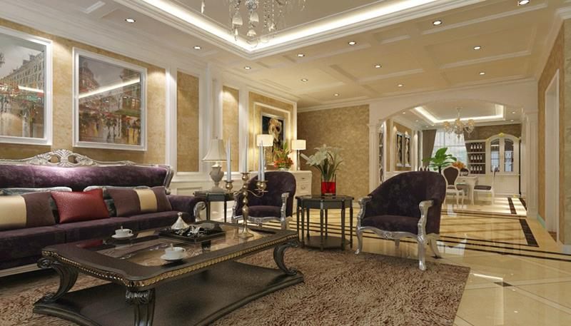 127 Luxury Living Room Designs-16