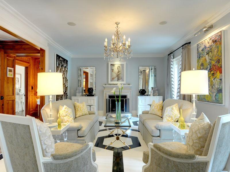 127 Luxury Living Room Designs-24