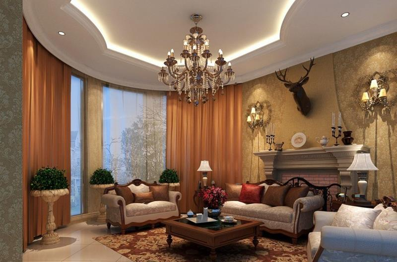 127 Luxury Living Room Designs-25