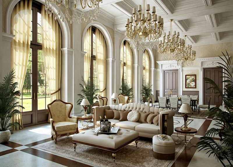 127 Luxury Living Room Designs-30