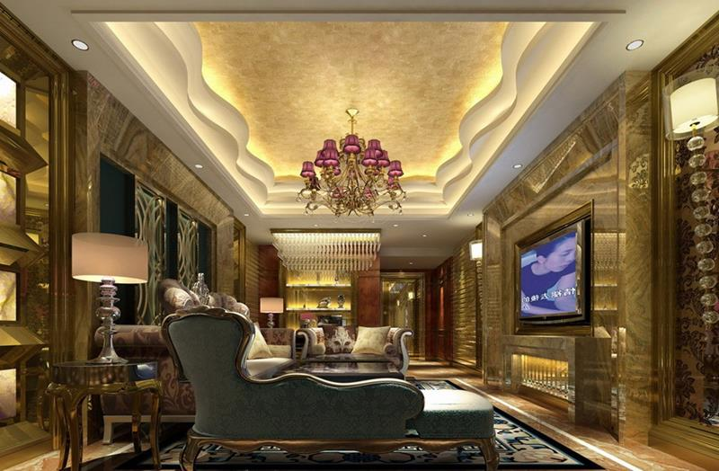 127 Luxury Living Room Designs-33