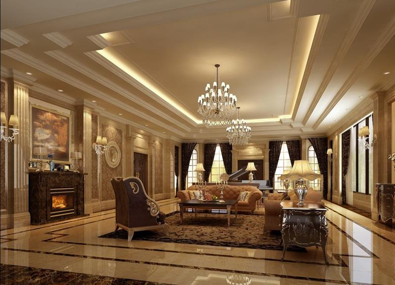 127 Luxury Living Room Designs-6